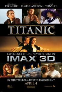 Titanic (1997) Imax 3D review