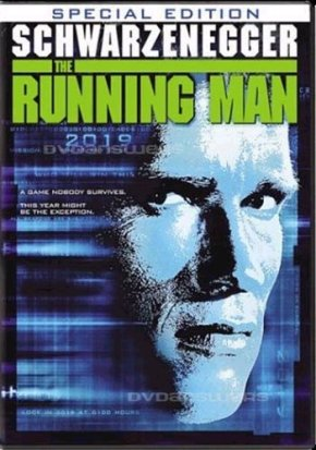 The Running Man (1987) DVD review