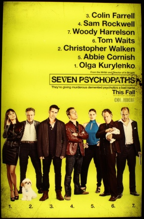 """""""How's everything in the dog kidnapping business?""""  Seven Psychopaths trailers(NSFW)"""