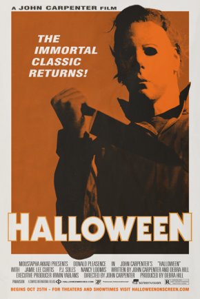 John Carpenter's Halloween returning to theaters for Halloween!!!