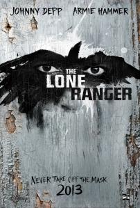 Lone Ranger teaser poster