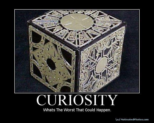 Puzzle box curiosity