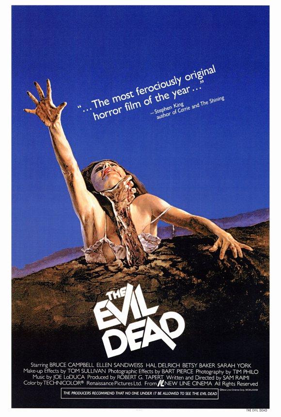 The Evil Dead original 1981 poster
