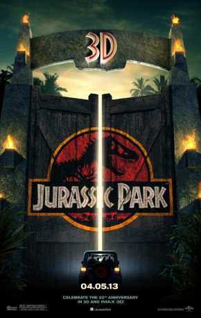 """Hold on to your butts."" Jurassic Park 3D trailer"