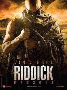 Riddick teaser poster