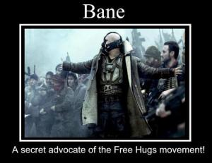 bane hugs