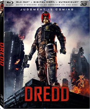 """You'd save me a lot of paperwork if you'd just confess right now."" Dredd Blu-Ray trailer"