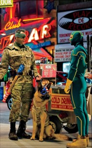 Kick-Ass 2 Colonel Stars