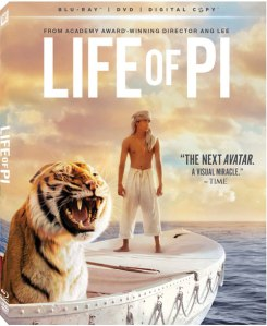 Life of Pi blu ray