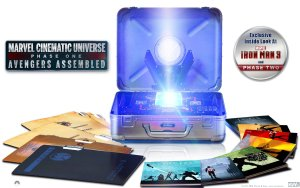 Marvel Cinematic Universe Phase One blu