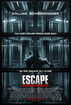 """You hit like a vegetarian."" First trailer for Escape Plan"