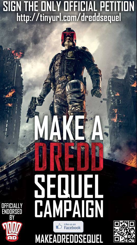 Dredd sequel petition