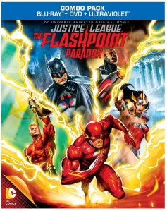 Justice League Flashpoint blu