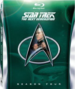 Star Trek TNG Season 4 blu