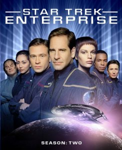 Star Trek Enterprise Season 2 blu