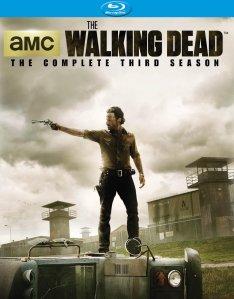 The Walking Dead Season 3 blu