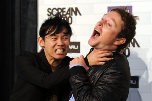James Wan and Leigh Whanell