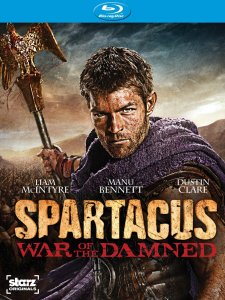 Spartacus War of the Damned blu