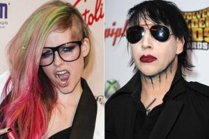 Avril Lavigne Marilyn Manson