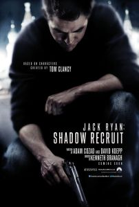 Jack Ryan Shadow Recruit teaser poster