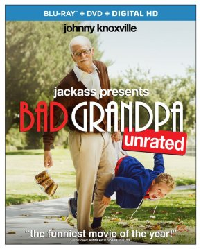 Jackass Presents: Bad Grandpa (2013) Blu-Ray review (mildlyNSFW)