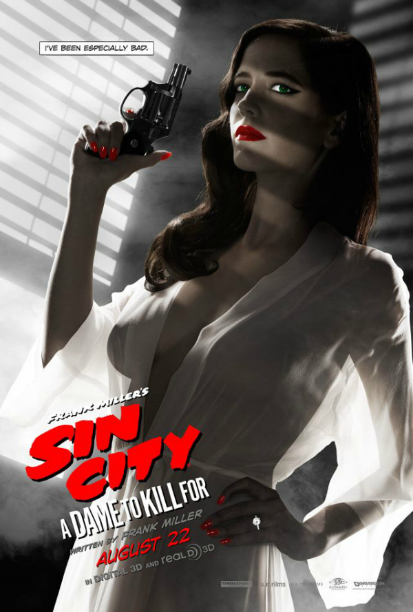 Banned Eva Green poster Sin City 2