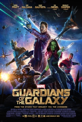 """I look around, and you know what I see?  Losers.""  Guardians of the Galaxy extended trailer!  TONS of new footage!"