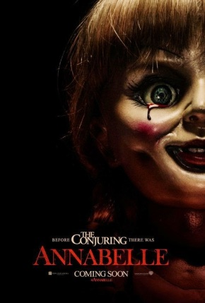 """""""Sometimes, demons can attach themselves to objects.""""""""  Annabelle fulltrailer!!"""