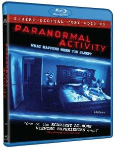 Paranormal Activity blu