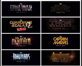 Marvel announces Phase 3 films!!  Also announces 'Black Panther' actor!!