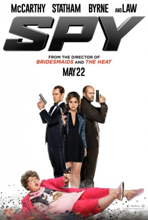 """""""You will never be an owl, but you'll always be a hoot to me.""""  Spy red band trailer!!(NSFW)"""