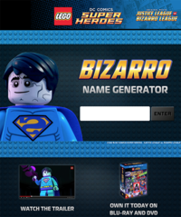 Lego justice bizzaro