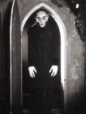 F. W. Murnau, director of 'Nosferatu', loses hishead