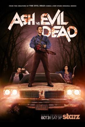 """You know I'm not Mexican, right?""  ""That's the spirit.""  Ash vs. Evil Dead trailer!!"