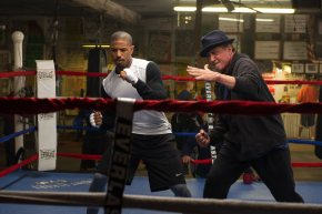 """Chickens are slowin' down.""  Creed trailer 2!!"