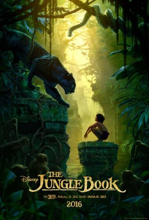 """Are you alone out here?  What are you doing so deep in the jungle?""  The Jungle Book teaser trailer!!"