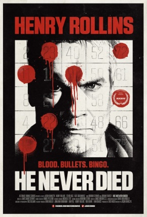 """I'm in the Bible, if that means anything.""  Red Band trailer for He Never Dies!!!!"