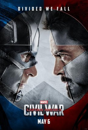 """Sometimes I want to punch you in your perfect teeth.""  Captain America: Civil War trailer!!!"